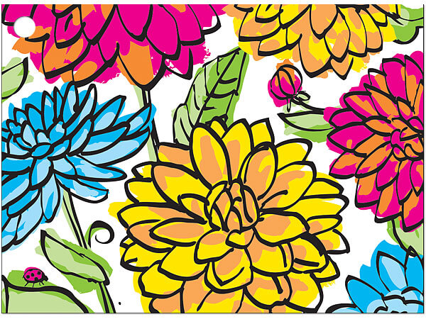 Vibrant Floral Gift Card