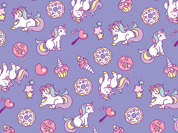 "My Little Unicorn 30"" x 25' Gift Wrap Roll"