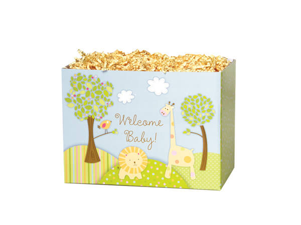 """Welcome Baby Basket Boxes, Small 6.75x4x5"""", 6 Pack"""