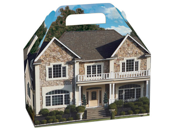 Welcome Home Estate Gable Boxes 8.5 x 4.75 x 5.5""