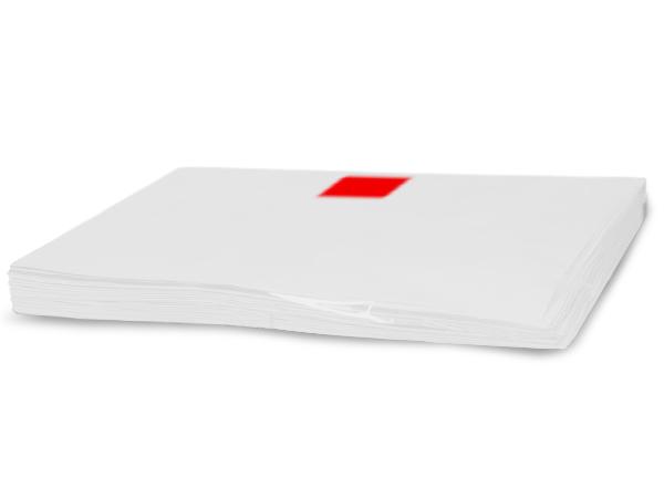 """White Recycled Tissue Paper, 15x20"""" Bulk 960 Sheet Pack"""