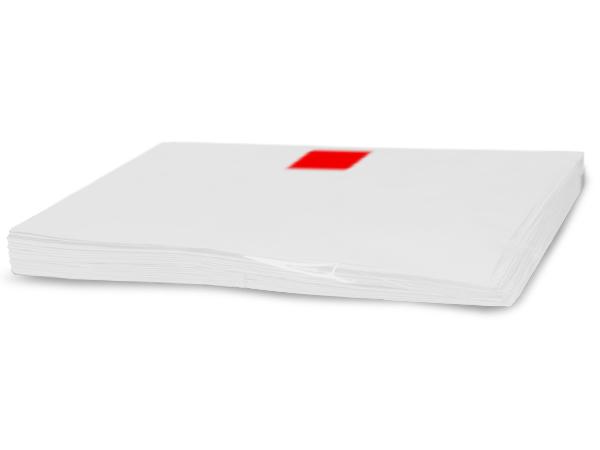 """White Recycled Tissue Paper 18x24"""" 960 sheet bulk pack"""