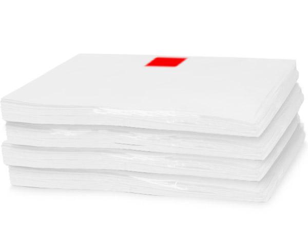 "White Recycled Tissue paper 20x30"" Carton of 5 ~ 960 sheet bulk pack"