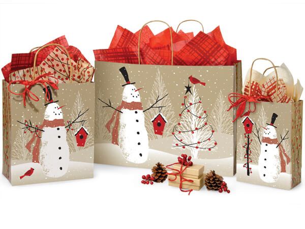 Woodland Snowman 125 Bag Assortment