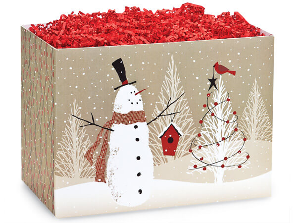 Woodland Santa Basket Boxes