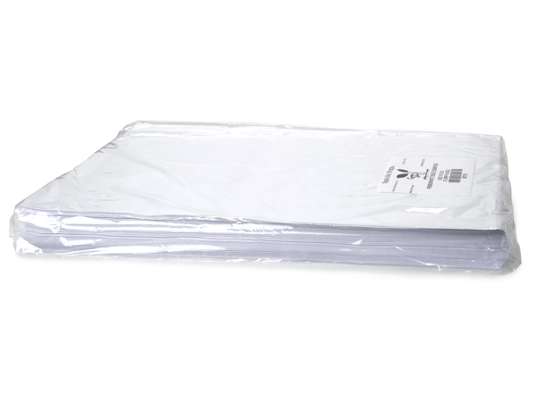 "White Premium Tissue Paper, 15x20"", Bulk 960 Sheet Pack"