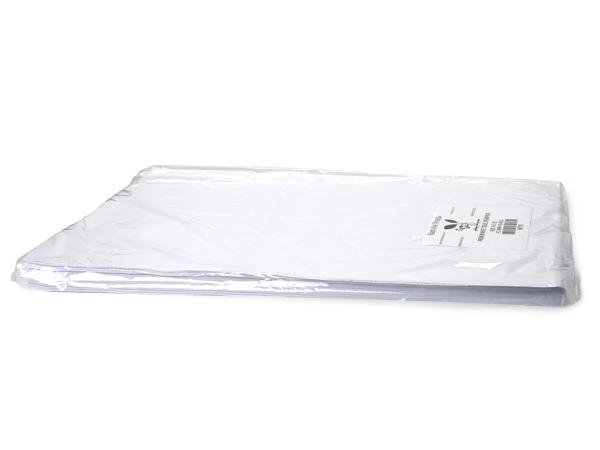 """White Premium Tissue Paper, 20x30"""", Bulk 240 Sheet Pack"""