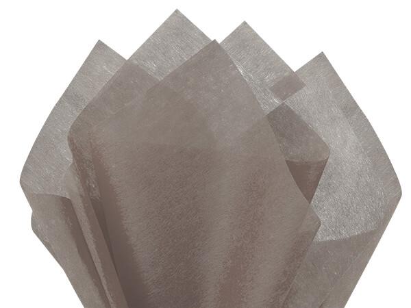 "Gray Non-woven Tissue, 20x26"", Bulk 100 Sheet Pack"