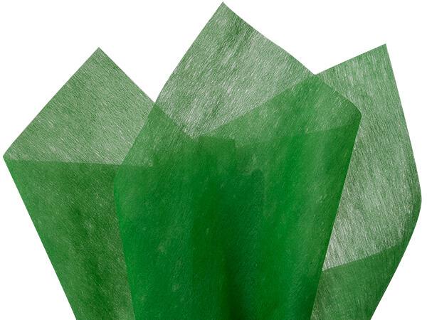 "Kelly Green Non-Woven Tissue, 20x26"", Bulk 100 Sheet Pack"