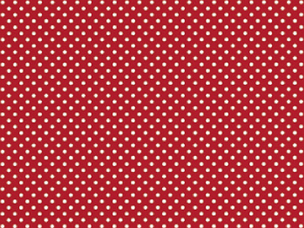 """Red Swiss Gift Wrap 18""""x417' Gift Wrap Half Ream Roll"""