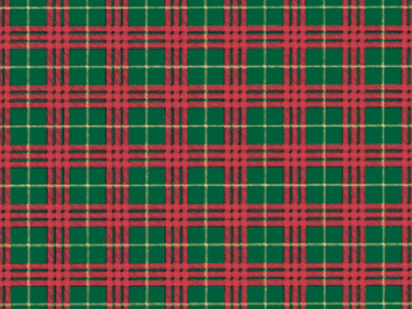 "Plaid Gift Wrap 18""x833' Gift Wrap Full Ream Roll"