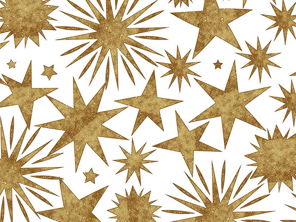 "Stargaze Gift Wrap 24""x417' Gift Wrap Half Ream Roll"