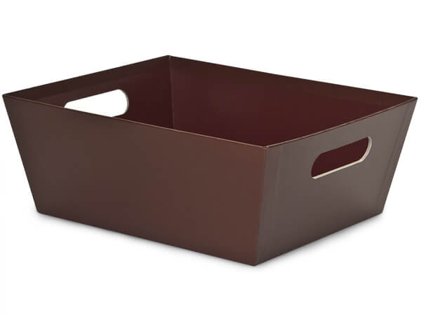 Chocolate Wide Base Market Tray