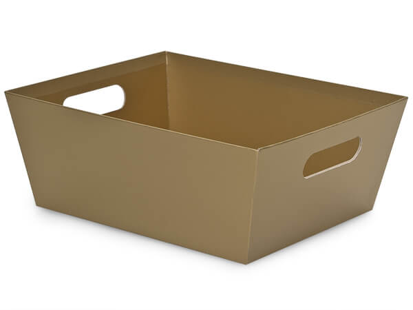 Gold X-Large Wide Base Market Trays