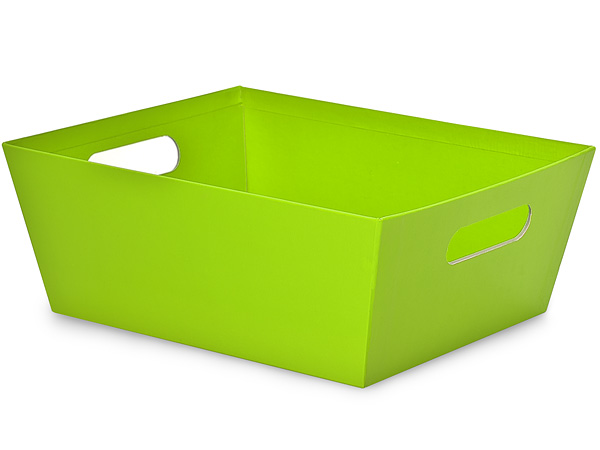 Lime Green X-Large Wide Base Trays