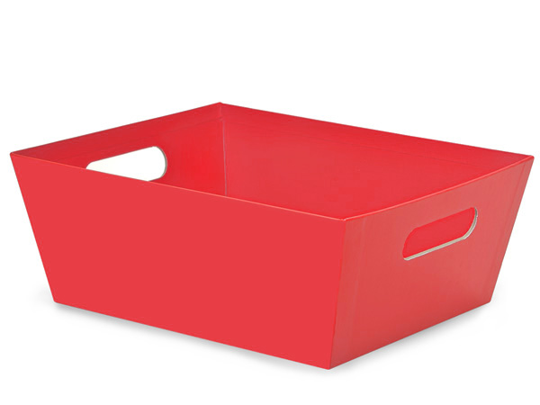 Red X-Large Wide Base Market Trays