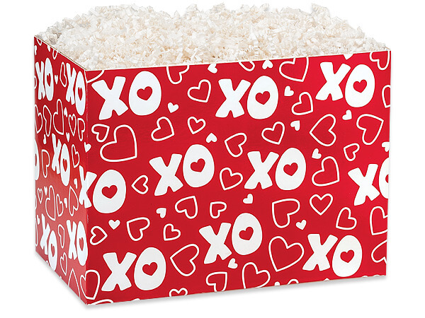 Large XOXO Basket Boxes 10-1/4 x 6 x 7-1/2""