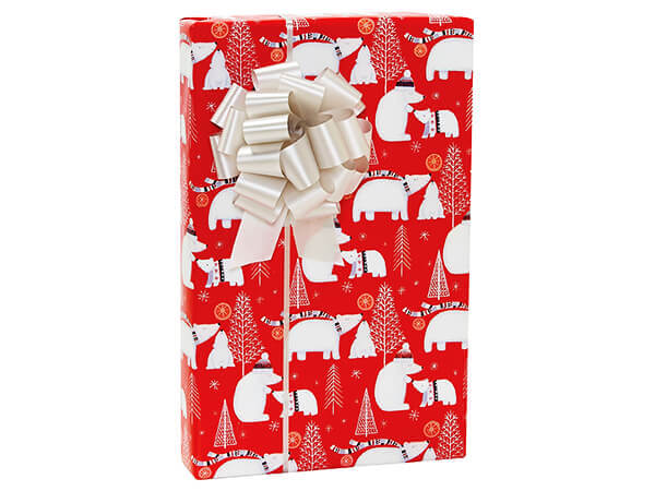 """Polar Pals Wrapping Paper 24""""X417' Counter Roll"""