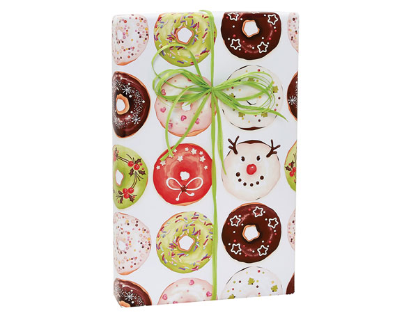 """Christmas Morning Gift Wrap 24""""X417' Counter Roll"""
