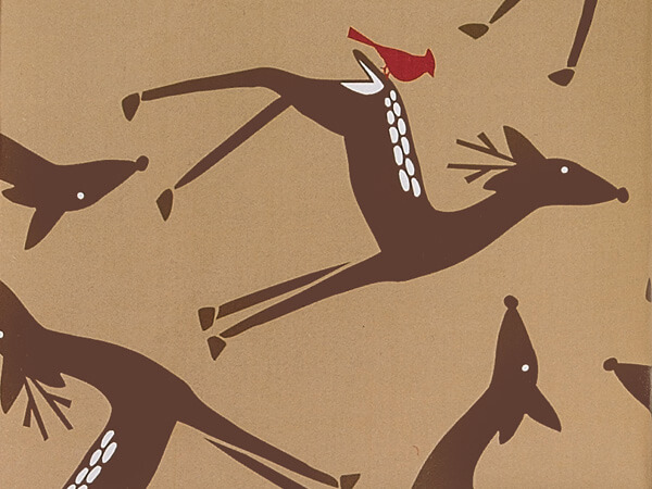 Woodland Deer Gift Wrapping Paper