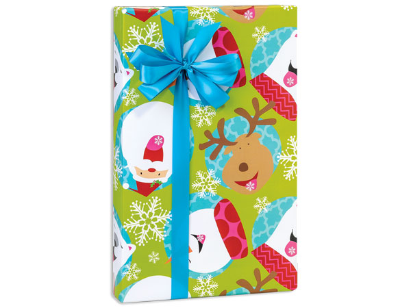"""Catching Flakes Wrapping Paper 24""""x417' Counter Roll"""