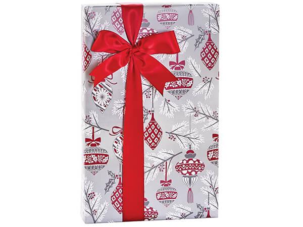 "Heirloom Ornaments Gift Wrap, 24""x85' Cutter Roll"