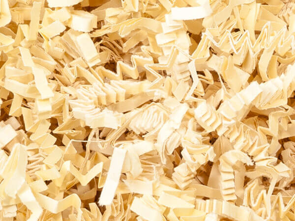 French Vanilla Crinkle Cut Shredded Paper, 8 oz Bag