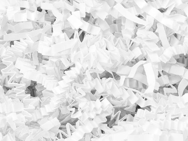 White Crinkle Cut Shred