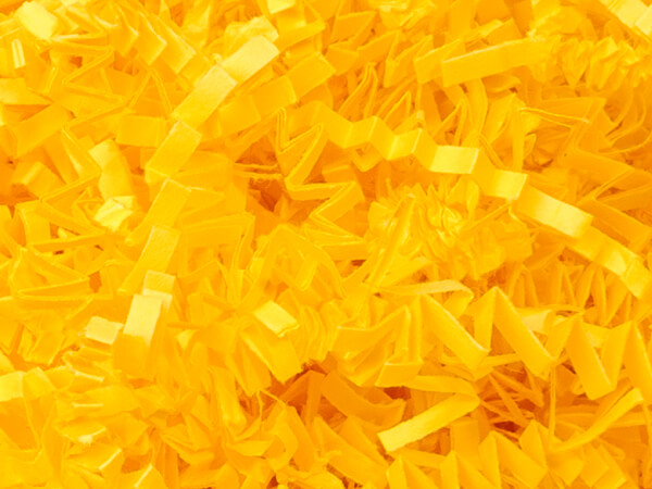 Yellow Crinkle Cut Shred