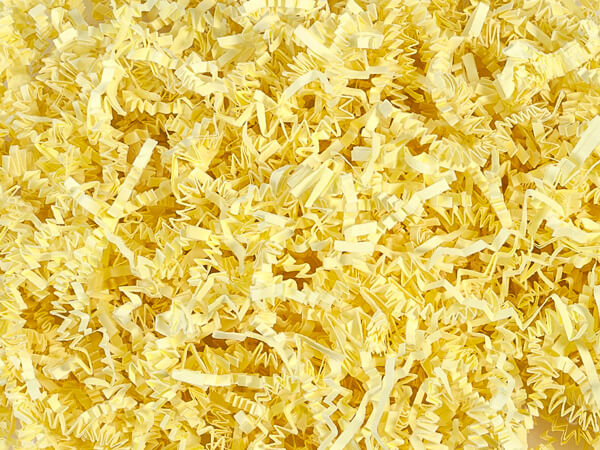 Canary Yellow Crinkle Cut™ 40 lb ~ Spring-fill® Paper Shred