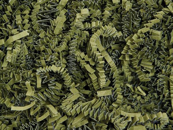 Olive Crinkle Cut Shredded Paper, 40 lb Box