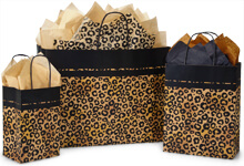Leopard Safari Shopping Bags