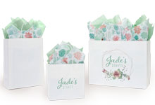 Deluxe Turn Top Shopping Bags
