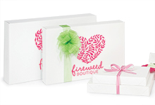 Nashville Wraps White Apparel Boxes