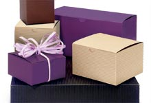 Nashville Wraps Kraft Color Gift Boxes