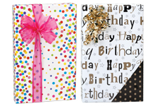 Nashville Wraps Birthday Gift Wrapping Paper