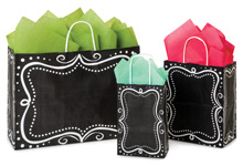 Nashville Wraps Recycled Chalkboard Paper Shopping Bags