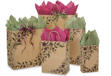 Nashville Wraps Customizable Tuscan Harvest Kraft Bags