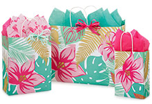 Nashville Wraps Tropical Paradise Gloss Paper Shopping Bags