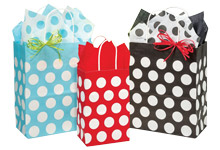 Nashville Wraps 100% Recycled Polka Dot Bags