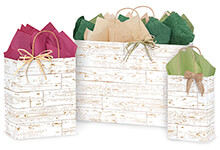 Distressed Wood Gift Bags