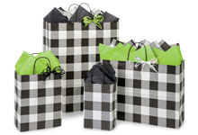Nashville Wraps Buffalo Plaid Black Collection