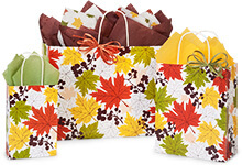 Nashville Wraps Falling Leaves Shopping Bags