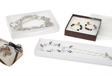 Nashville Wraps Clear Lid Jewelry Gift Boxes
