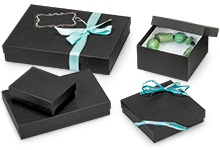 Custom Print Your Black Jewelry Boxes