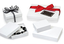 Nashville Wraps Recycled White Kraft Jewelry Gift Boxes