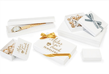 Nashville Wraps White Gloss Jewelry Gift Boxes