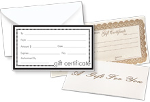 Nashville Wraps Gift Certificates