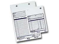Nashville Wraps Carbonless Register Forms