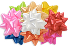 Poly Star Gift Bows
